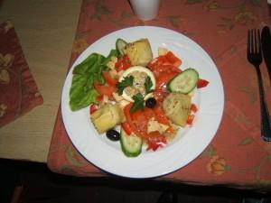 Artichoke salad, anyone?