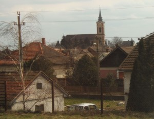 Hungarian countryside scene