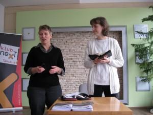 Sharing my testimony in Sunday morning service. Helga is translating for me.
