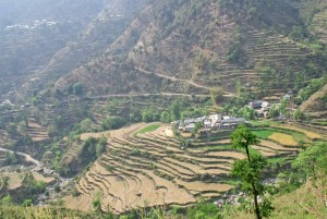 a Himalayan village nearly identical to ours