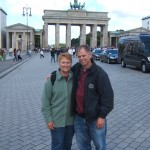 Gene and Grace at the Brandenburg Gate -- Berlin, Germany
