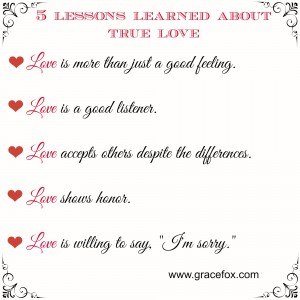5 love lessons
