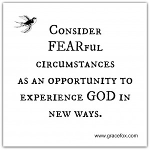 consider fearful circumstances