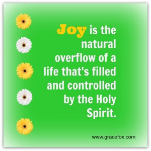 joy is the natural