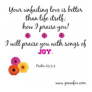 Psalm 63-3,5