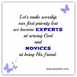 experts at serving God