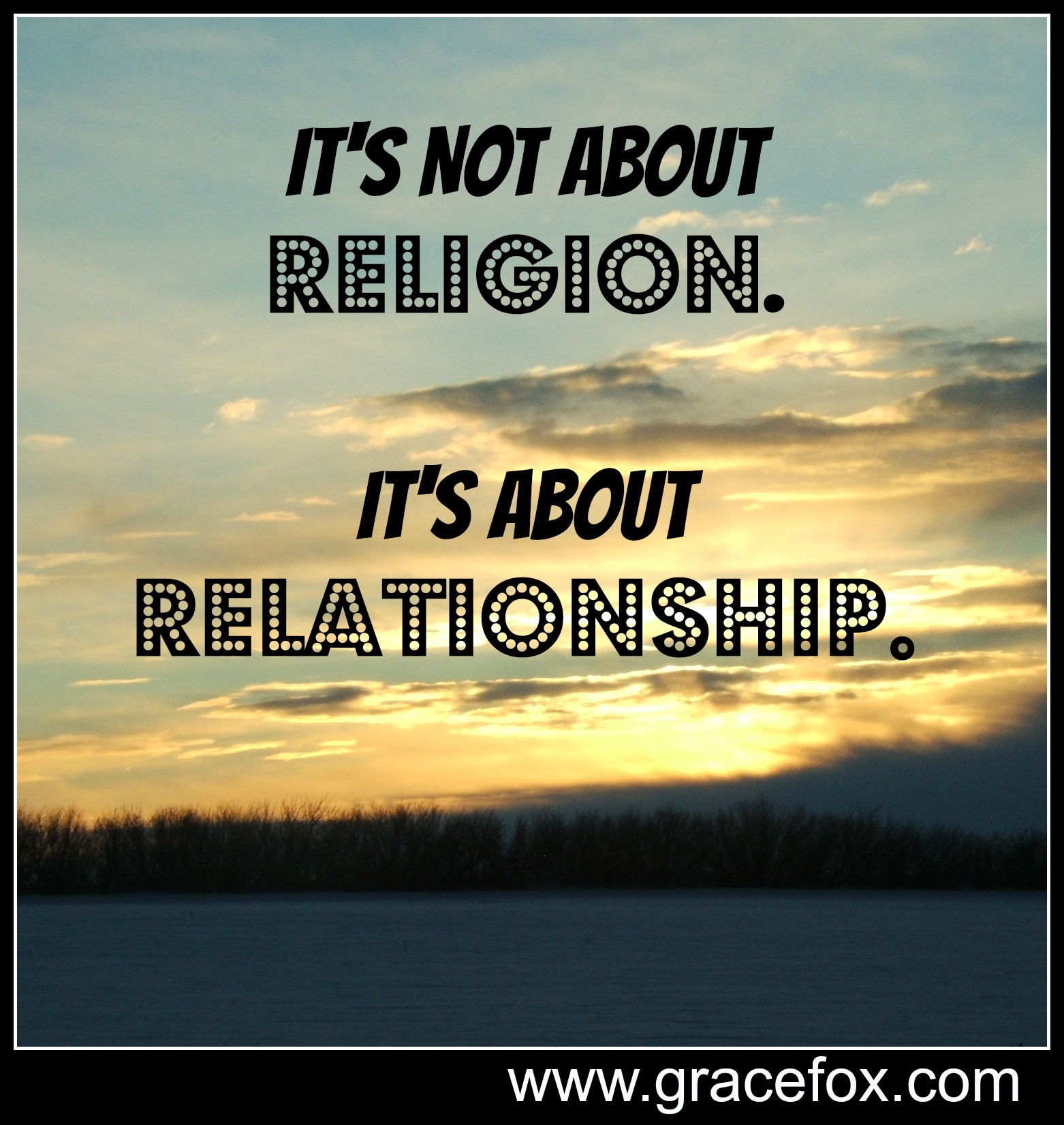 how can build a good relationship with god