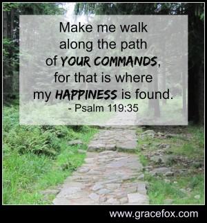 Psalm 119 35