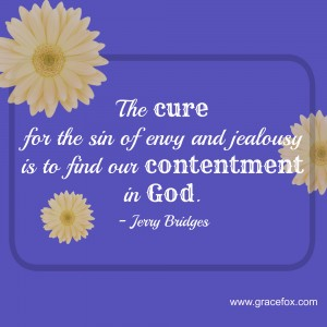 cure for envy