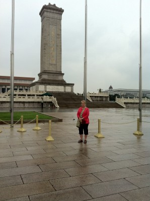 Grace in Tiananmen Square, Beijing