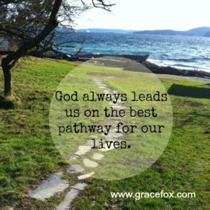 God always leads us