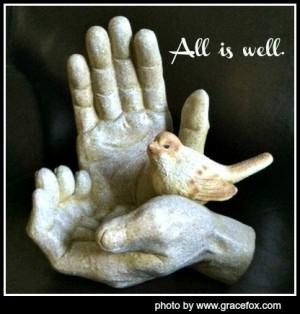 All is well, bird in hand. jpg