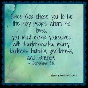Colossian 3-12-14