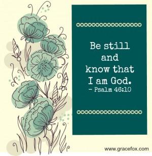 Psalm 46-10