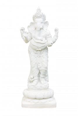 Ganesh white isolation