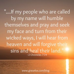 2 Chronicles 7-14 sunset