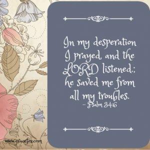 Psalm 34-6